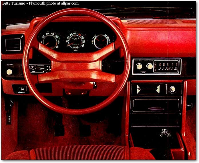 Plymouth Turismo 1983 - 1987 Hatchback 3 door #4