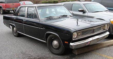 Plymouth Valiant III 1967 - 1973 Sedan 2 door #5