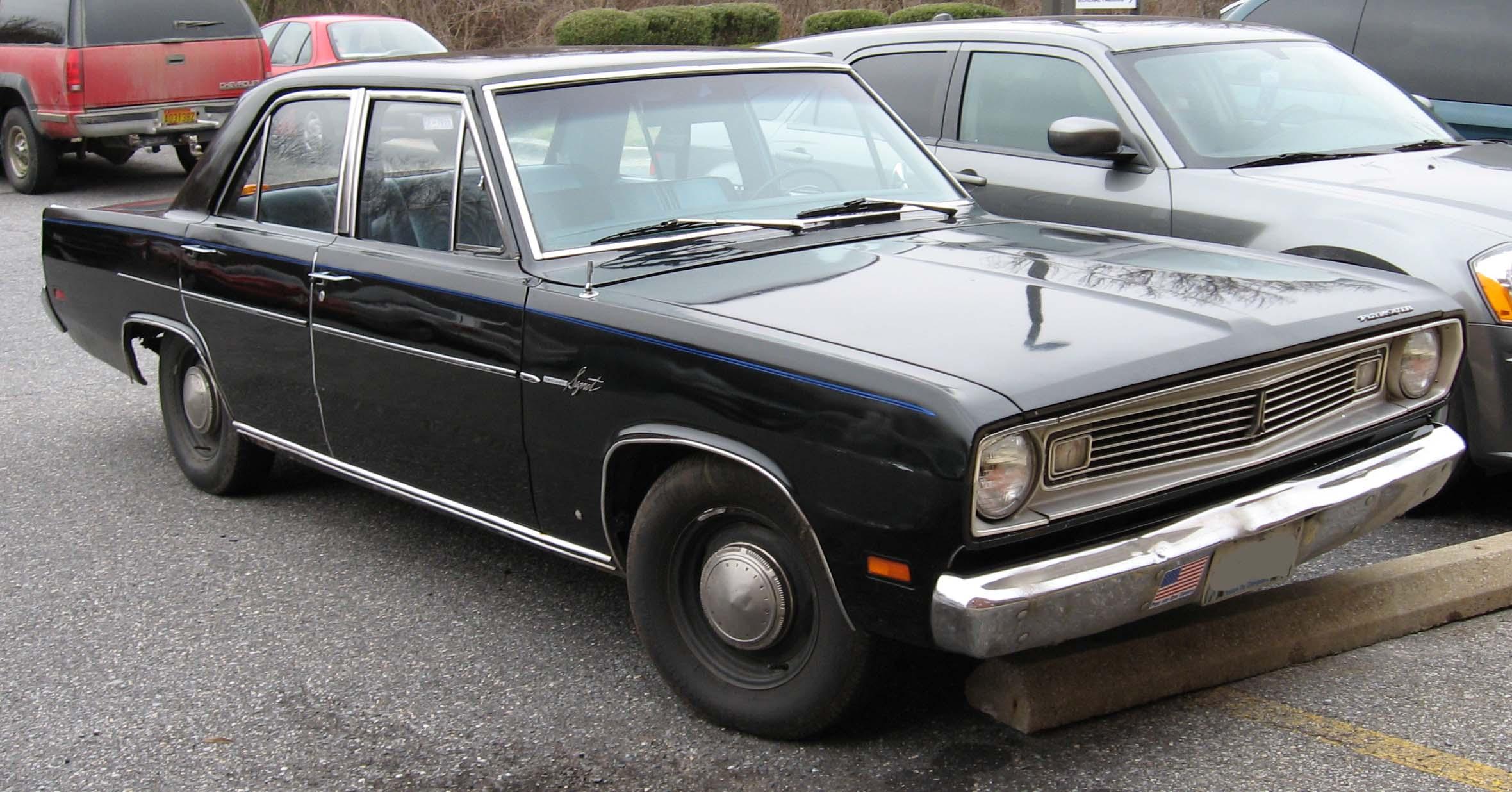 Plymouth Valiant III 1967 - 1973 Sedan #5