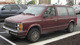 Plymouth Voyager I 1984 - 1990 Minivan #4