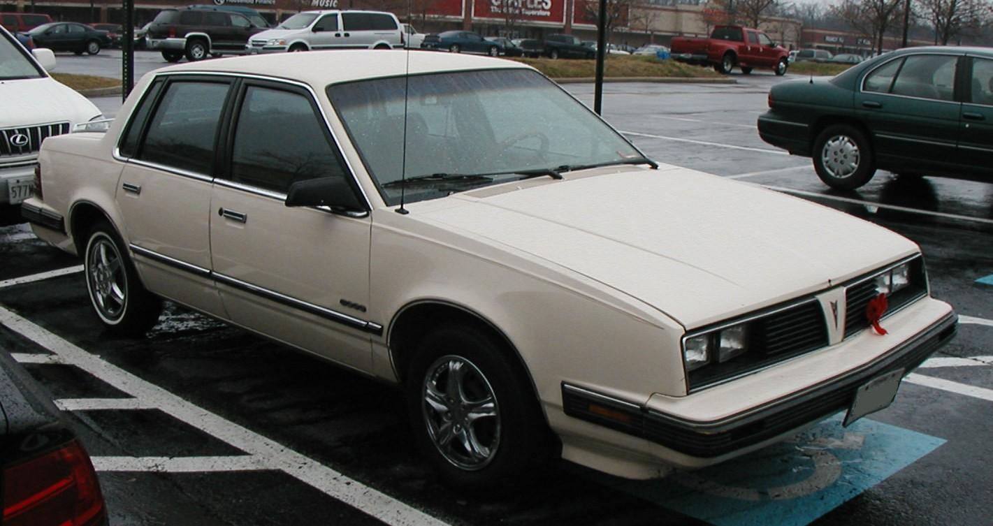 Pontiac 6000 1982 - 1991 Coupe #5
