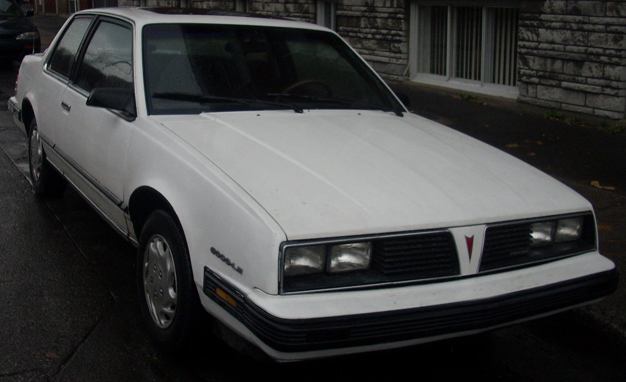 Pontiac 6000 1982 - 1991 Coupe #3