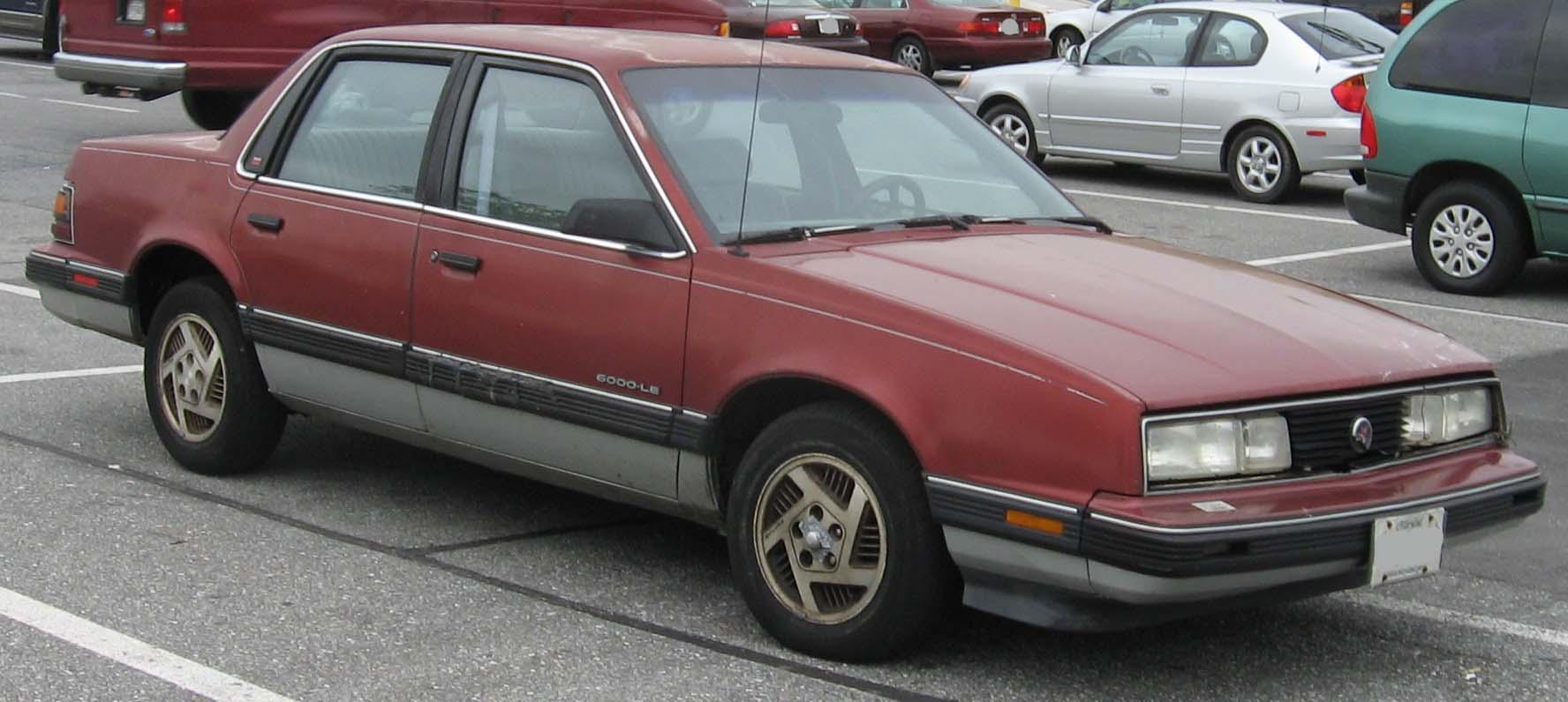Pontiac 6000 1982 - 1991 Coupe #4