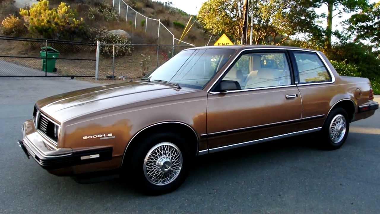 Pontiac 6000 1982 - 1991 Coupe #7