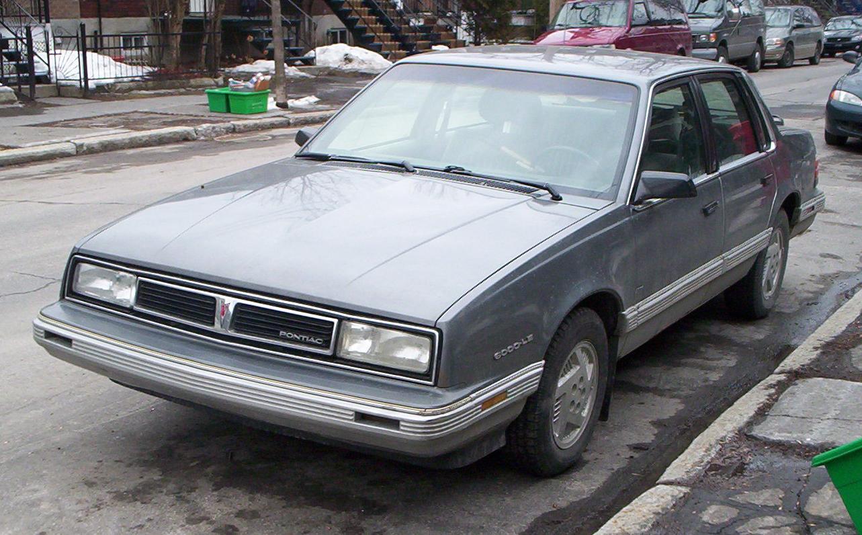 Pontiac 6000 1982 - 1991 Coupe #6