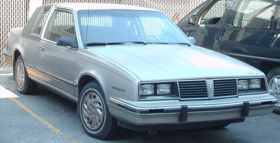 Pontiac 6000 1982 - 1991 Coupe #8