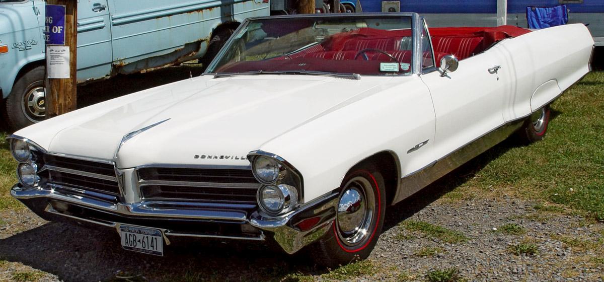 Pontiac Bonneville IV 1965 - 1970 Cabriolet #1