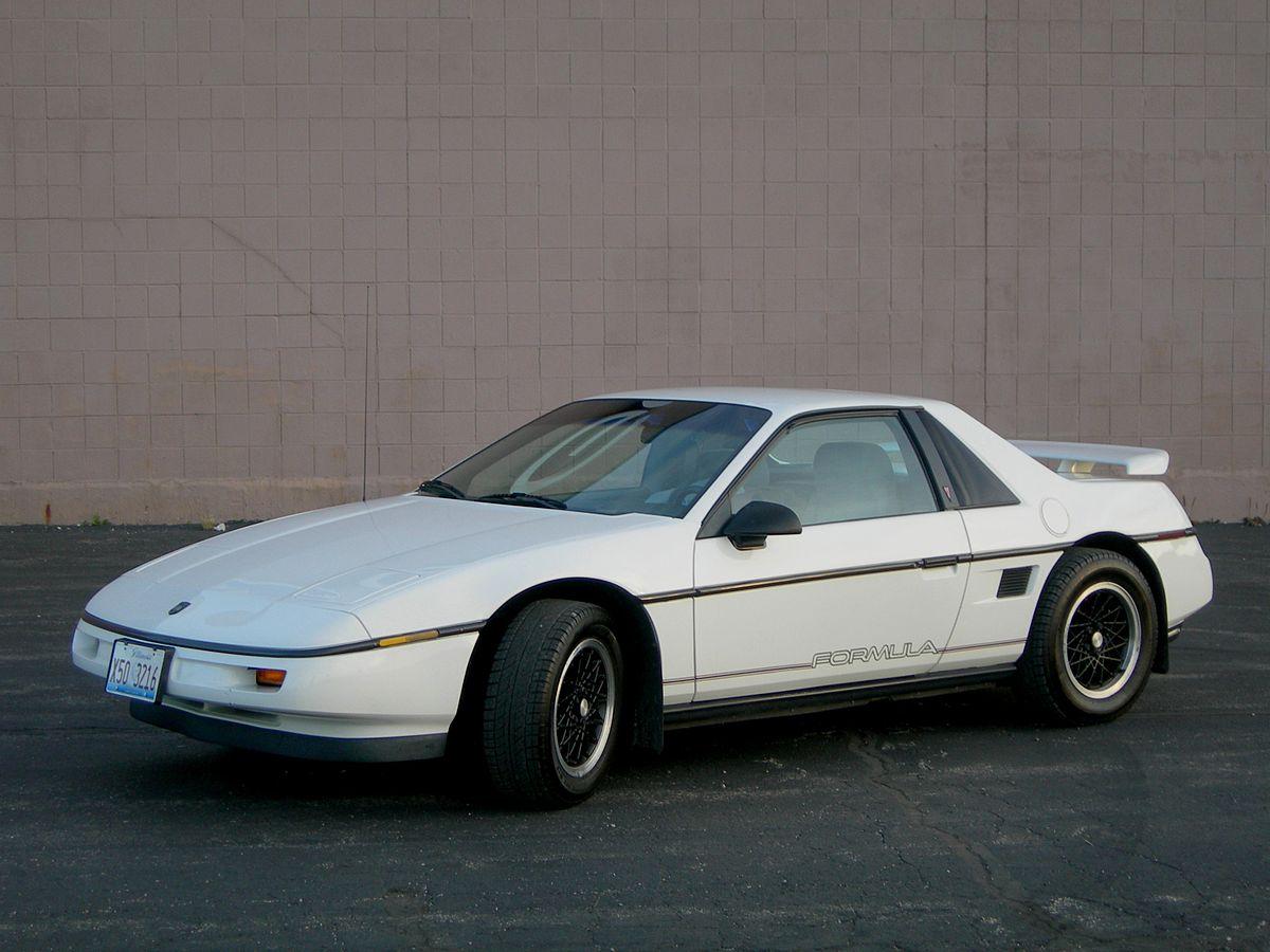 Pontiac Fiero 1984 - 1988 Hatchback 3 door #6
