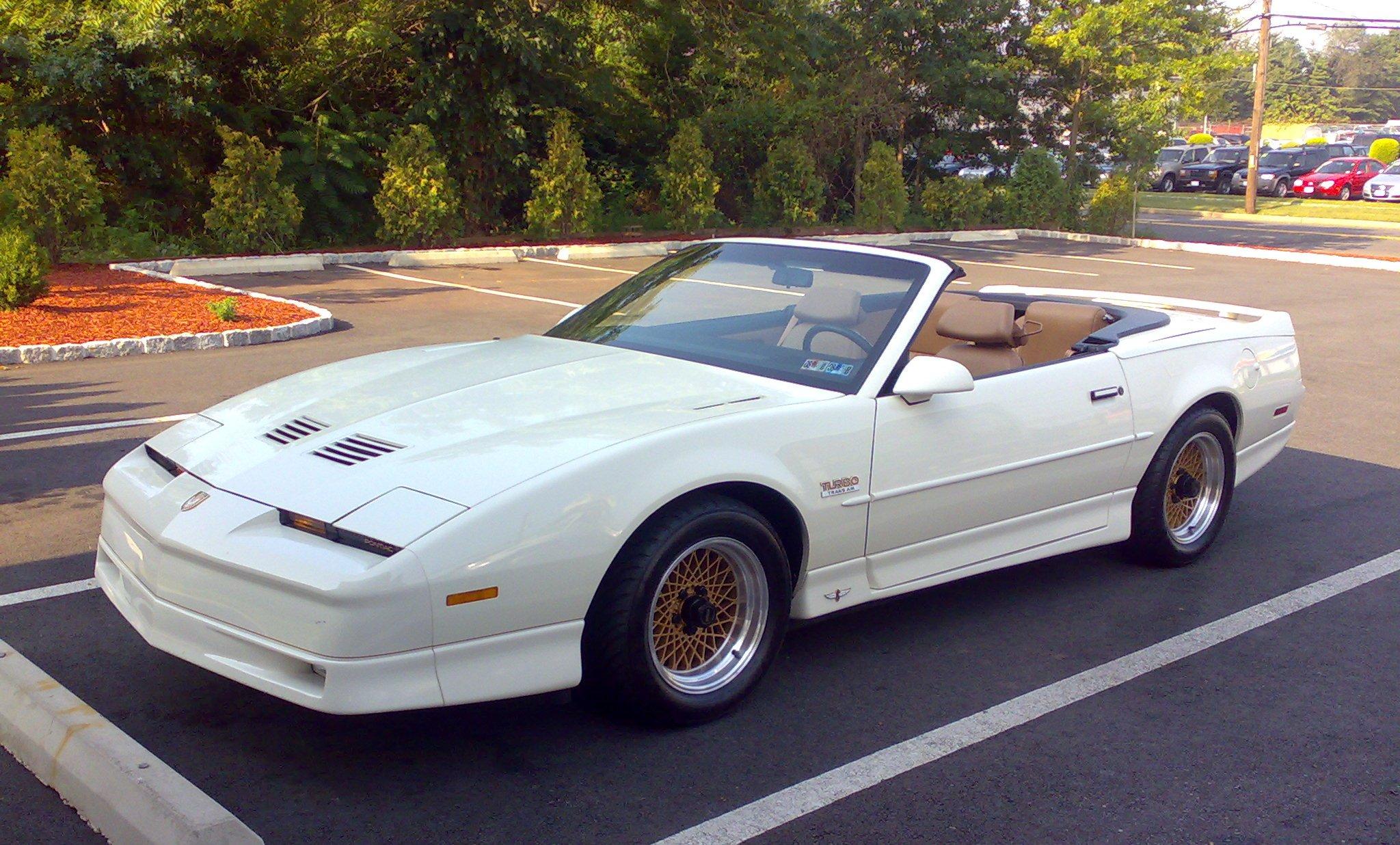 Pontiac Firebird III 1982 - 1992 Cabriolet #3