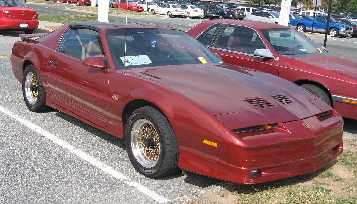 Pontiac Firebird III 1982 - 1992 Coupe #1