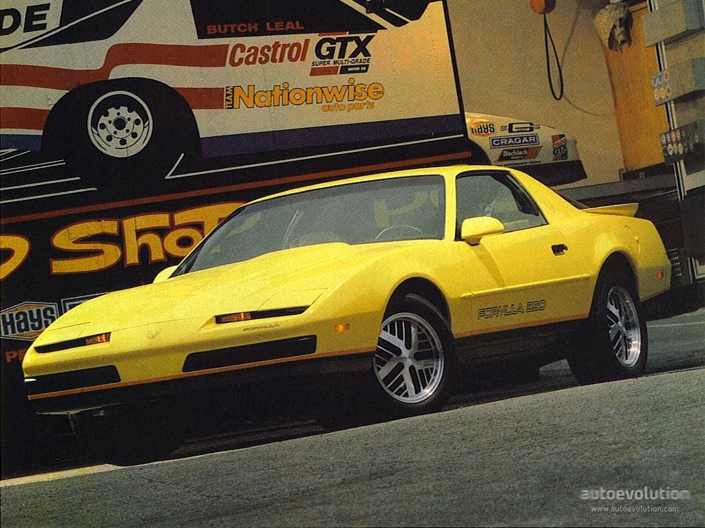 Pontiac Firebird III 1982 - 1992 Coupe #3