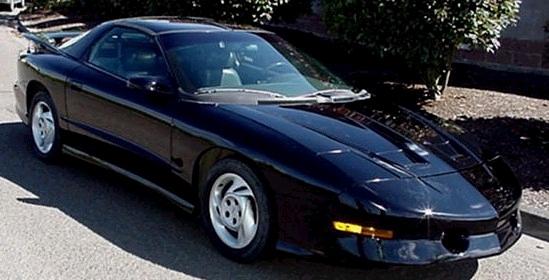 Pontiac Firebird IV 1993 - 2002 Coupe #7
