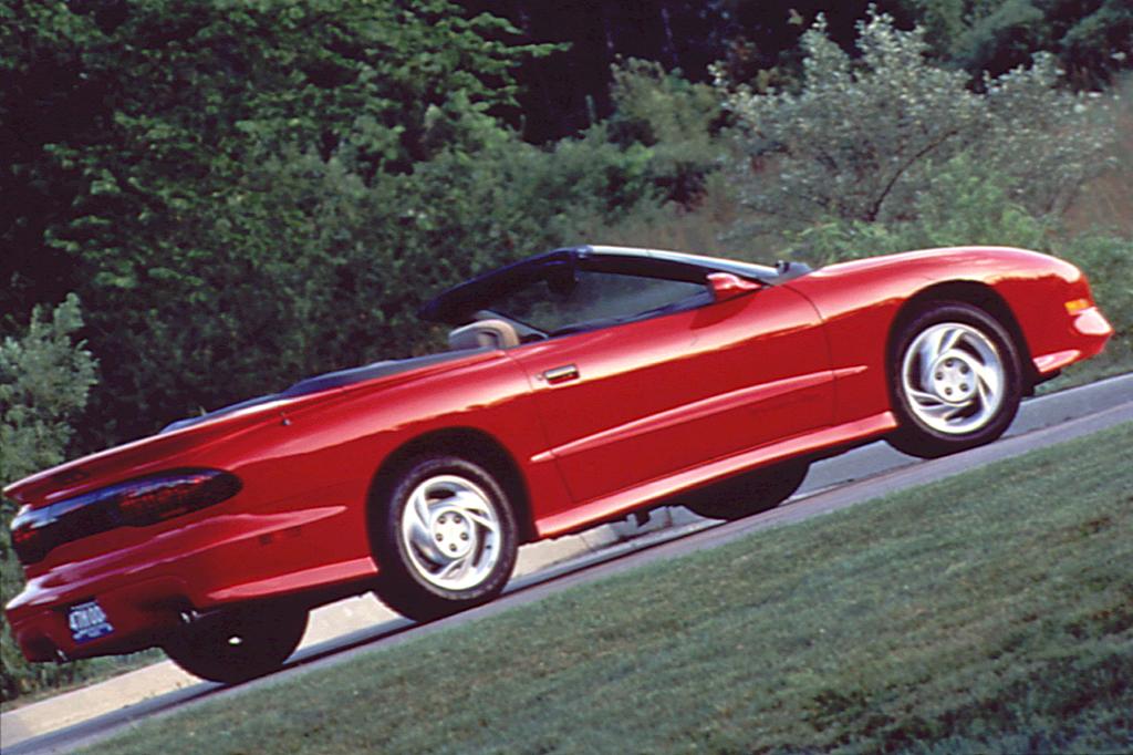 Pontiac Firebird IV 1993 - 2002 Cabriolet #6