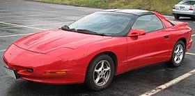 Pontiac Firebird IV 1993 - 2002 Coupe #8