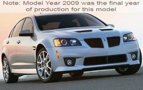 Pontiac G8 2007 - 2009 Sedan #4