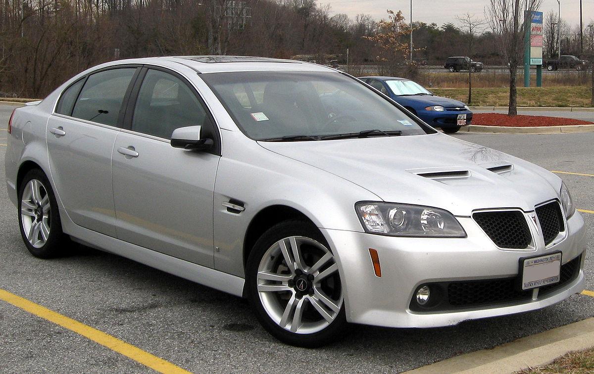 Pontiac G8 2007 - 2009 Sedan #3