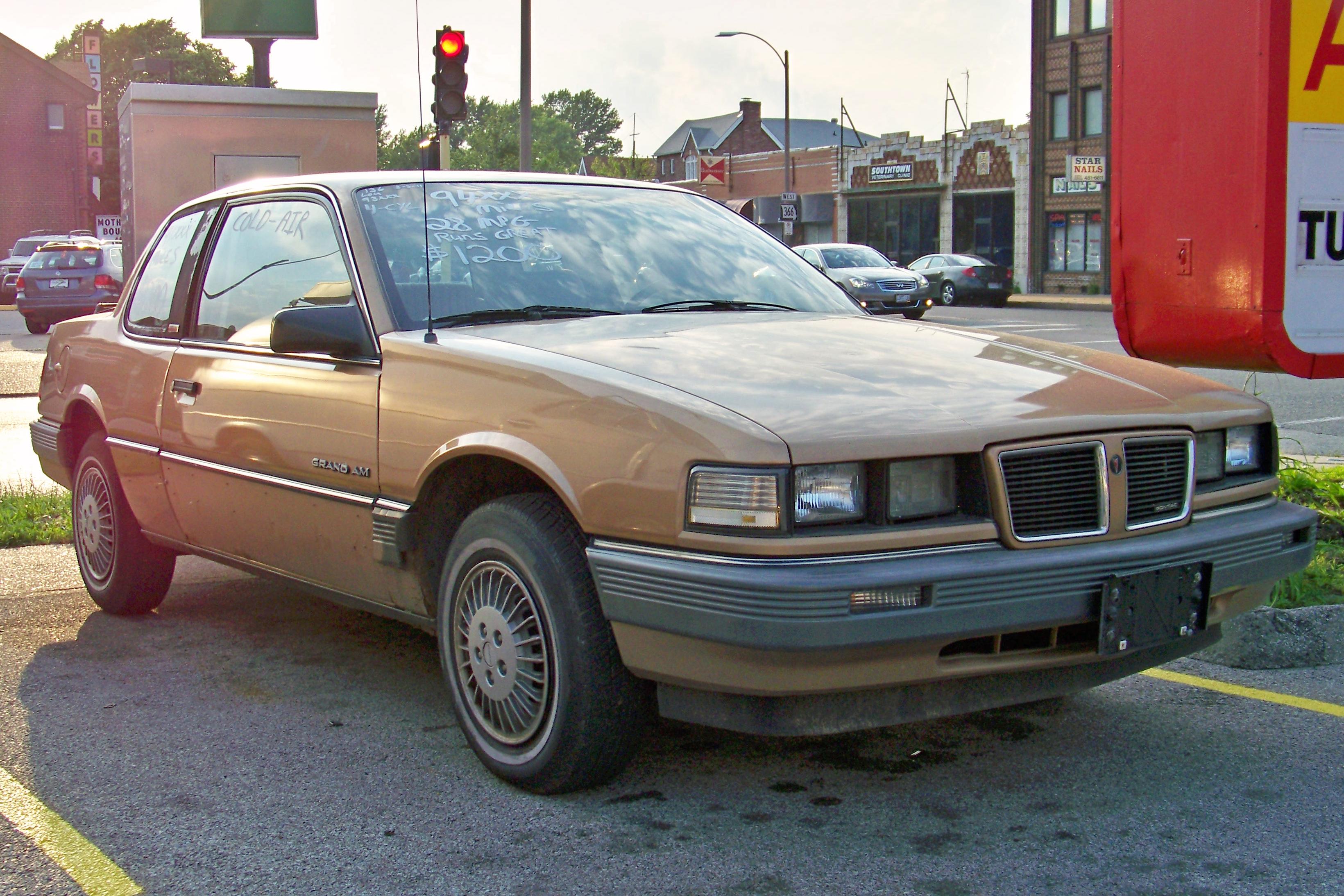 Pontiac Grand AM III 1984 - 1991 Coupe #5