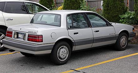 Pontiac Grand AM III 1984 - 1991 Sedan #7