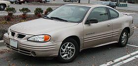 Pontiac Grand AM IV 1992 - 1998 Coupe #4