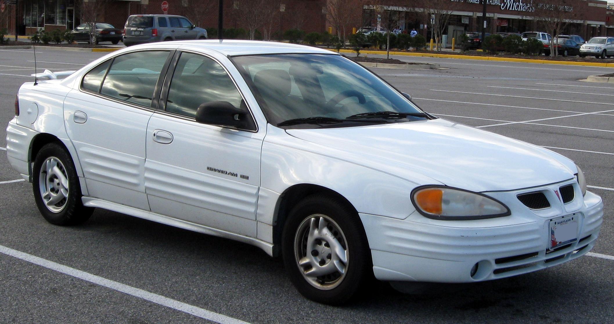 Pontiac Grand AM IV 1992 - 1998 Sedan #5
