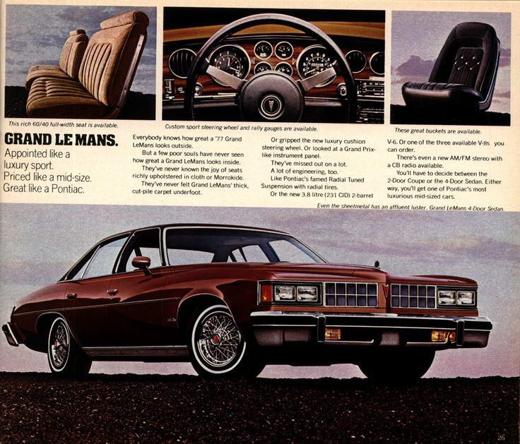 Pontiac LeMans IV 1973 - 1977 Station wagon 5 door #8