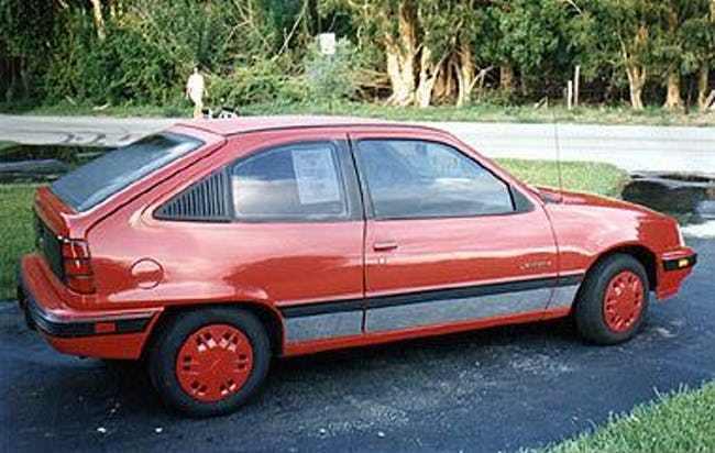 Pontiac LeMans VI 1988 - 1991 Hatchback 3 door #4