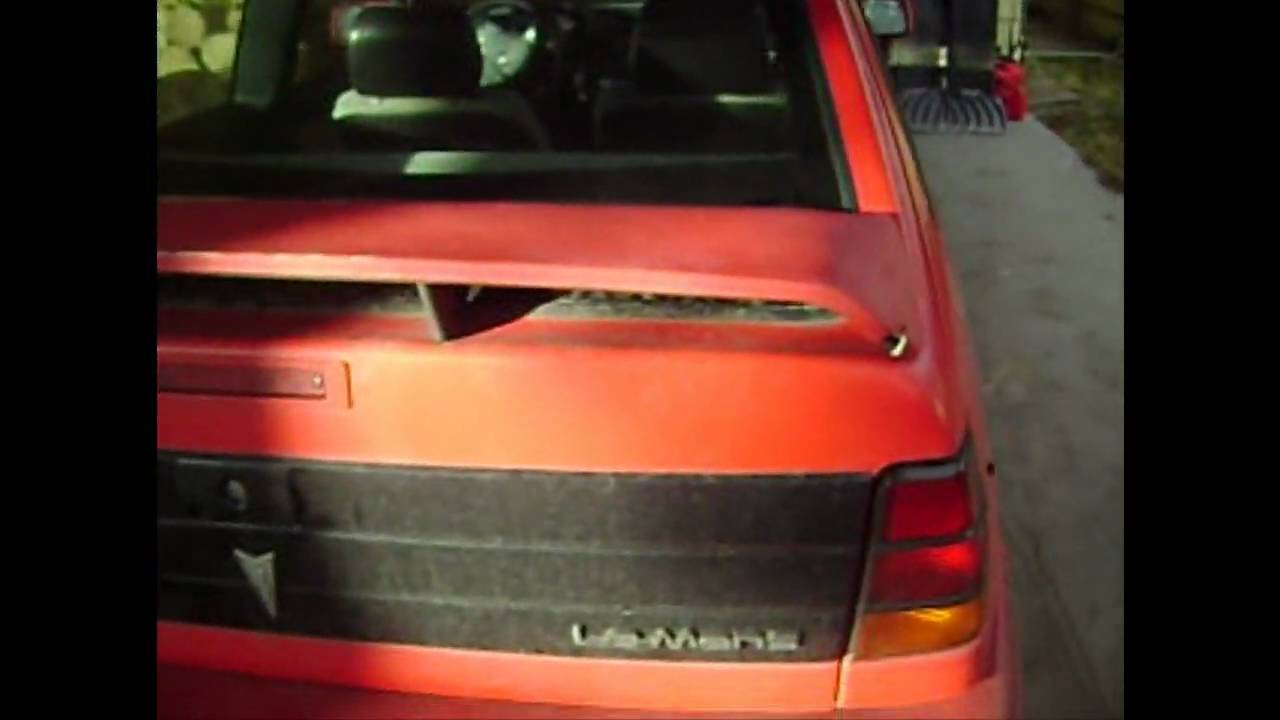 Pontiac LeMans VI Restyling 1991 - 1993 Hatchback 3 door #3