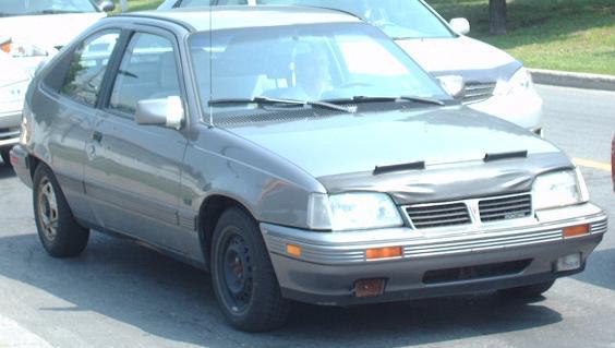 Pontiac LeMans VI Restyling 1991 - 1993 Hatchback 3 door #1