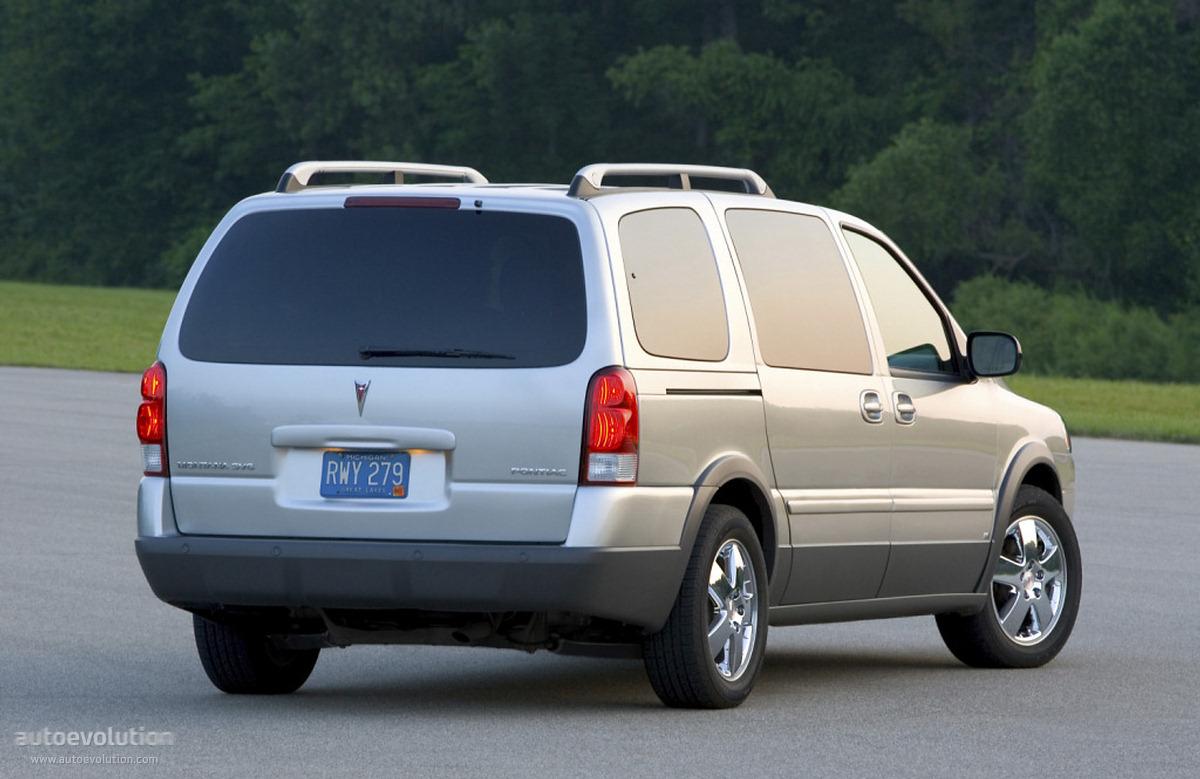 Pontiac Montana II SV6 2005 - 2009 Minivan #2