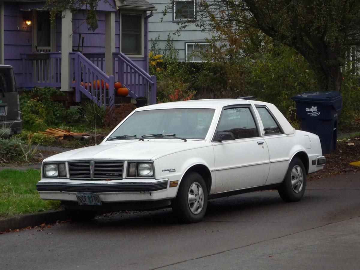 Pontiac Phoenix II 1979 - 1984 Coupe #3