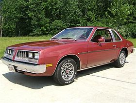 Pontiac Sunbird I 1975 - 1980 Coupe #8