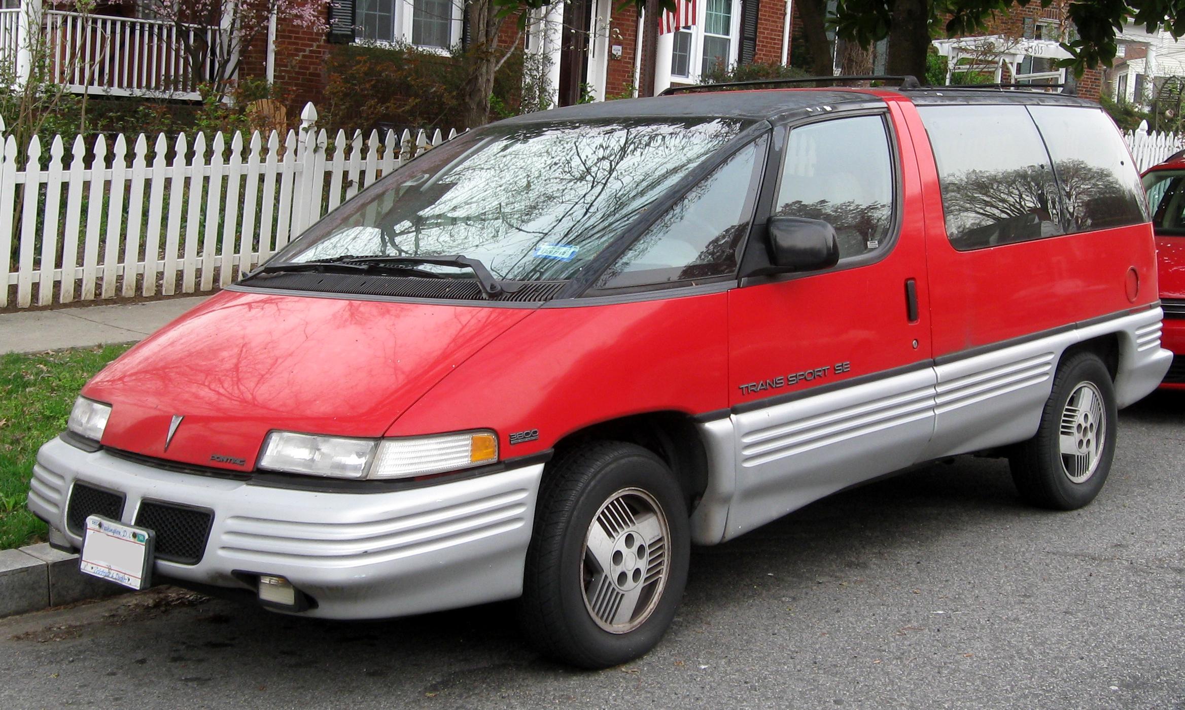 Pontiac Trans Sport I 1989 - 1996 Minivan #3
