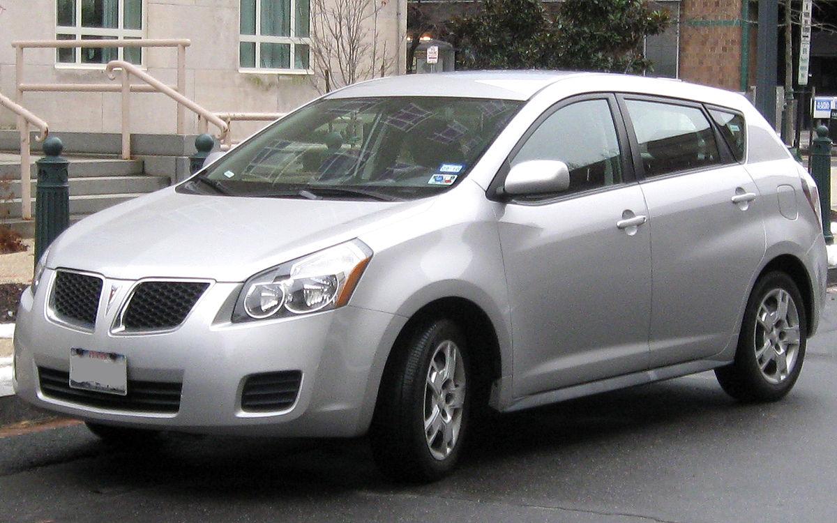 Pontiac Vibe I 2002 - 2004 Compact MPV #8