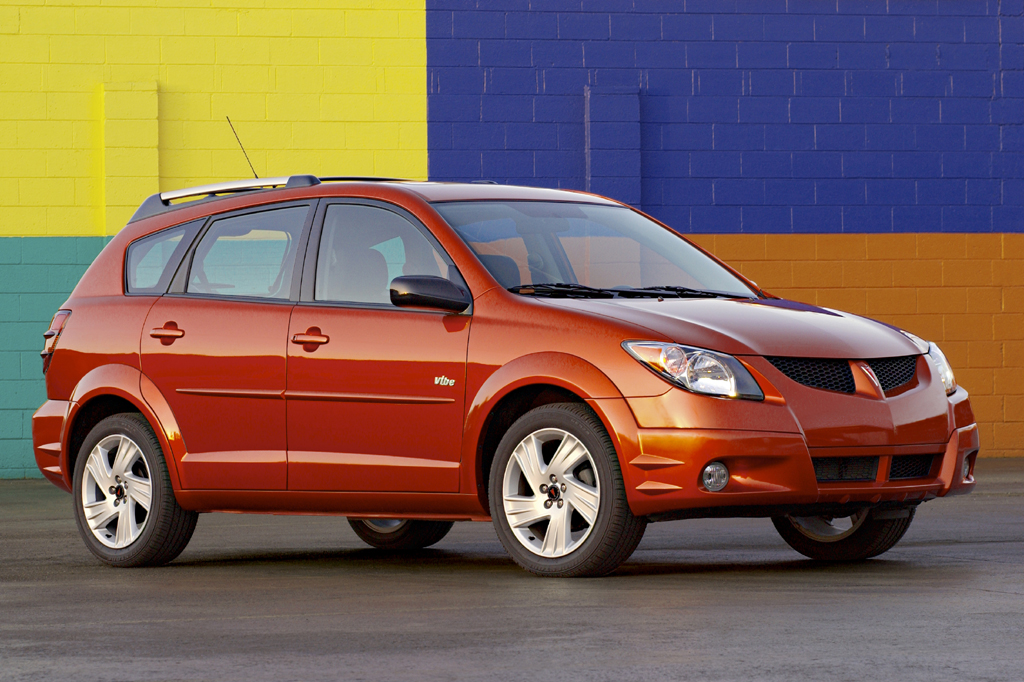 Pontiac Vibe I 2002 - 2004 Compact MPV #5