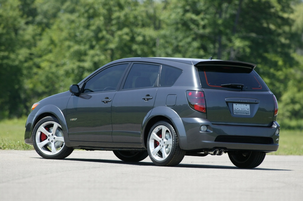 Pontiac Vibe I Restyling 2004 - 2008 Compact MPV #4