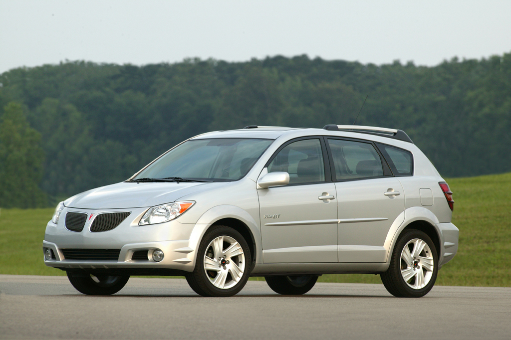 Pontiac Vibe I Restyling 2004 - 2008 Compact MPV #6