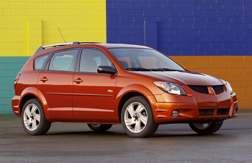 Pontiac Vibe I Restyling 2004 - 2008 Compact MPV #3