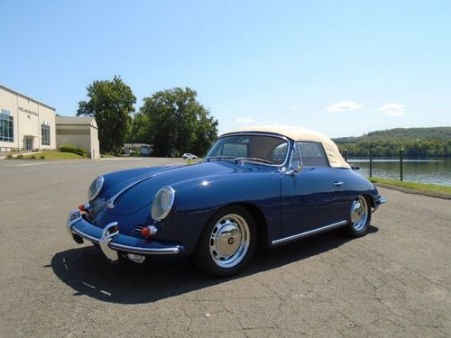 Porsche 356 IV (C) 1963 - 1965 Cabriolet #1
