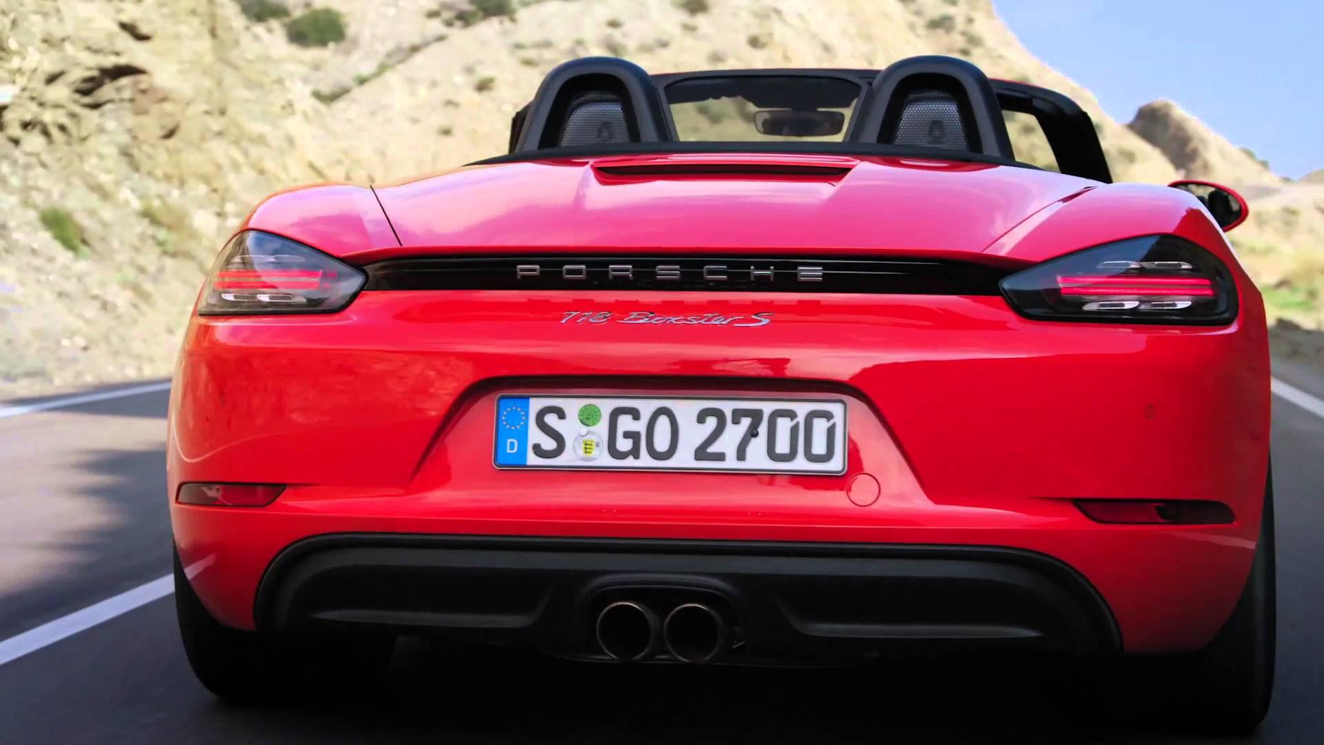 Porsche 718 Boxster 2016 - now Roadster #8