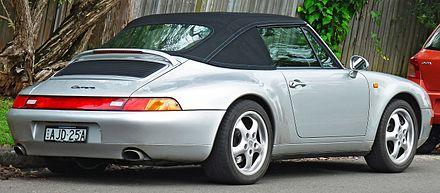 Porsche 911 IV (993) 1993 - 1998 Cabriolet #6