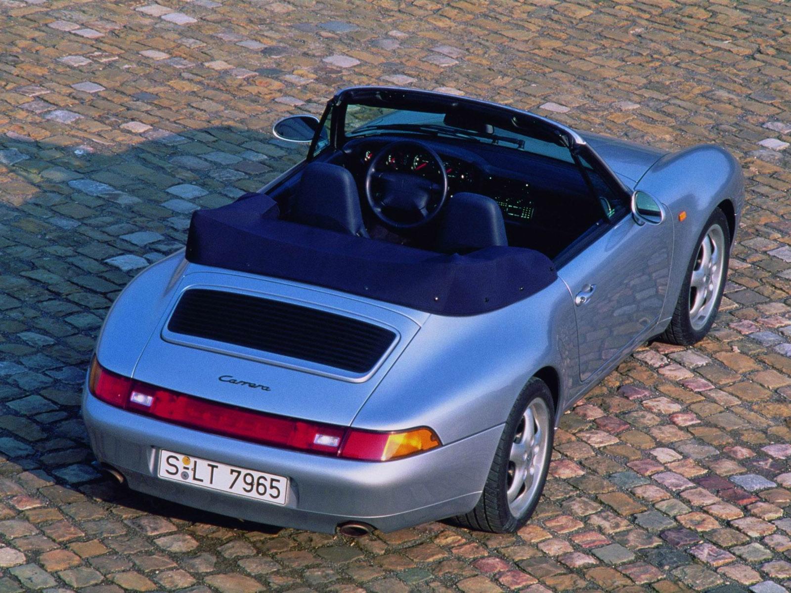 Porsche 911 IV (993) 1993 - 1998 Cabriolet #3