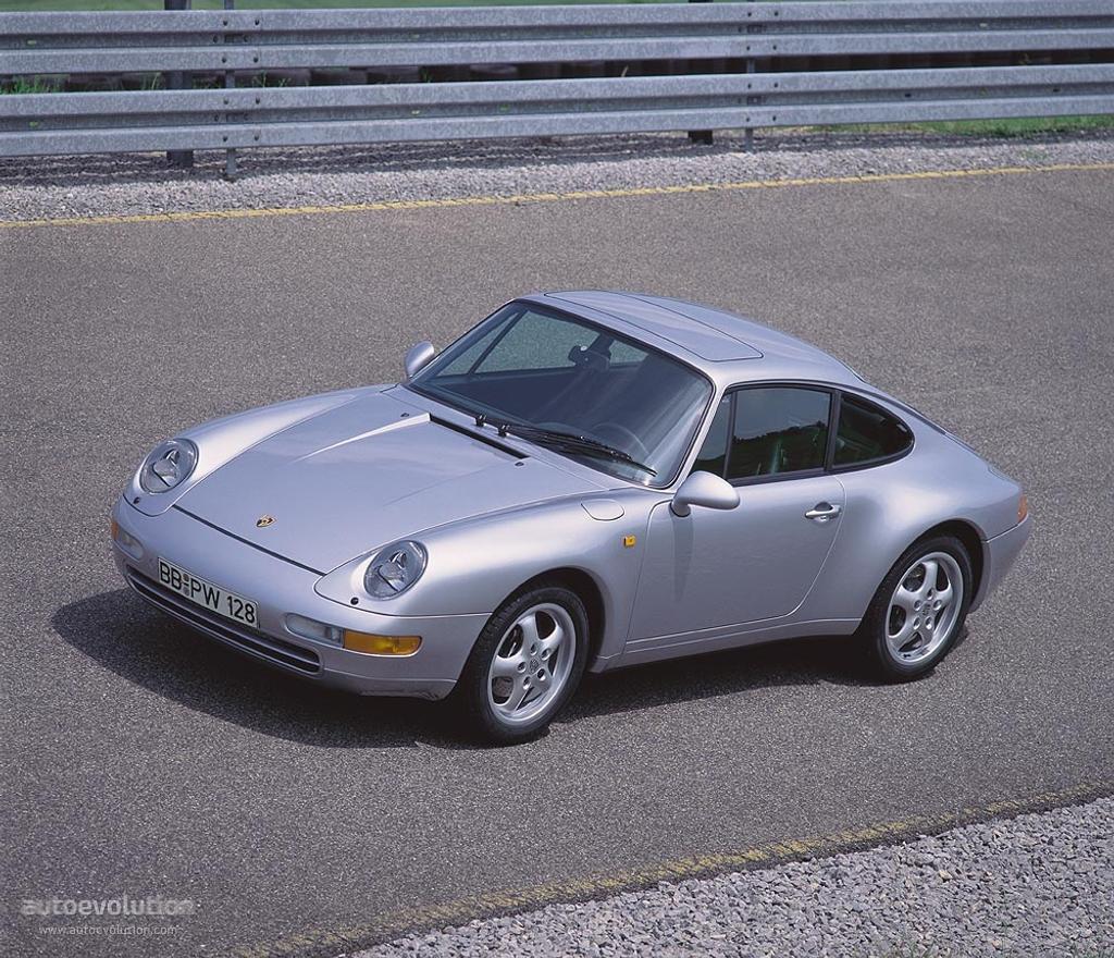 Porsche 911 IV (993) 1993 - 1998 Coupe #3
