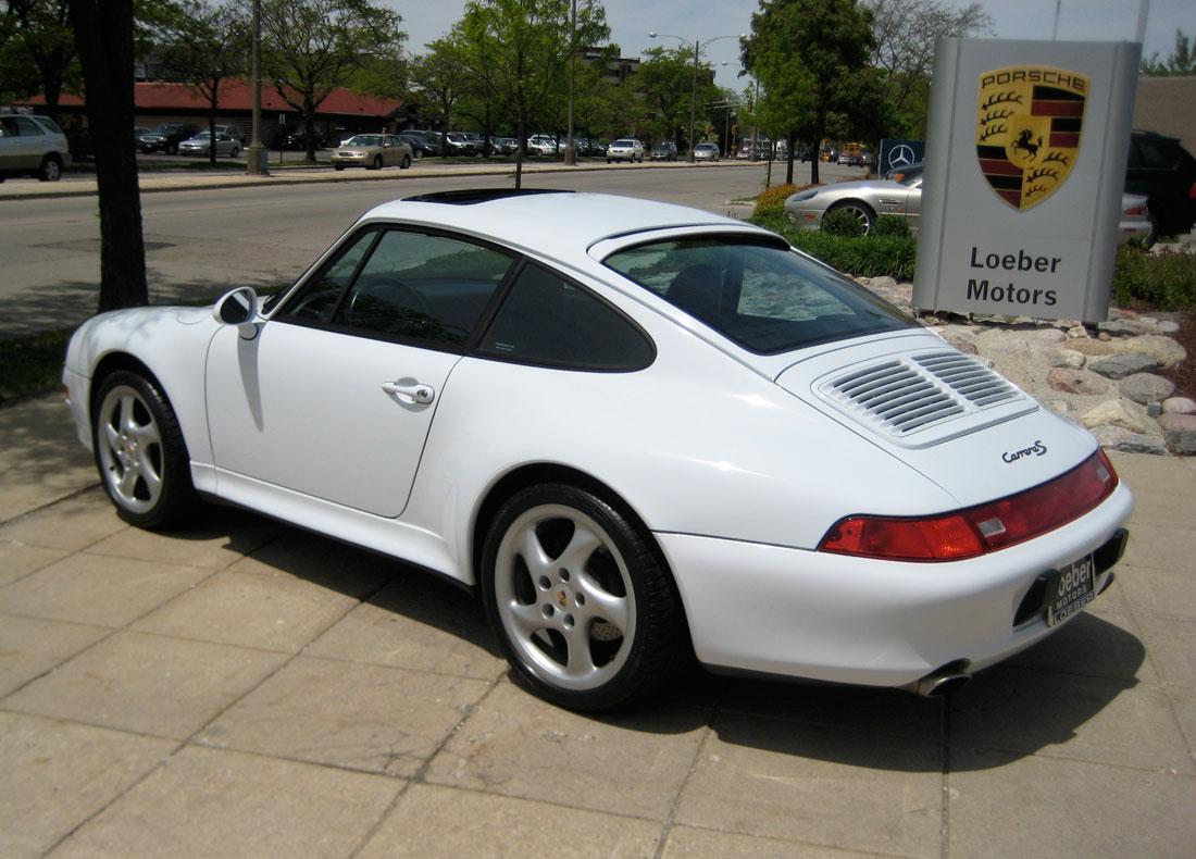 Porsche 911 IV (993) 1993 - 1998 Coupe #2