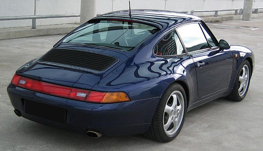 Porsche 911 IV (993) 1993 - 1998 Targa #7