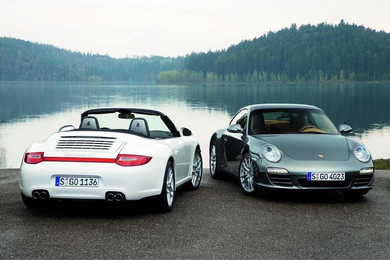 Porsche 911 VI (997) Restyling 2008 - 2012 Cabriolet #4