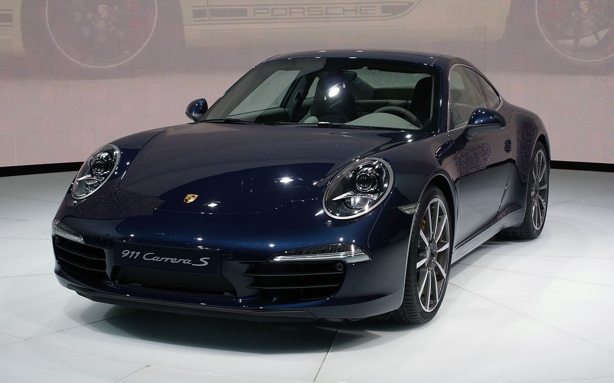 Porsche 911 VII (991) 2011 - 2015 Coupe #6