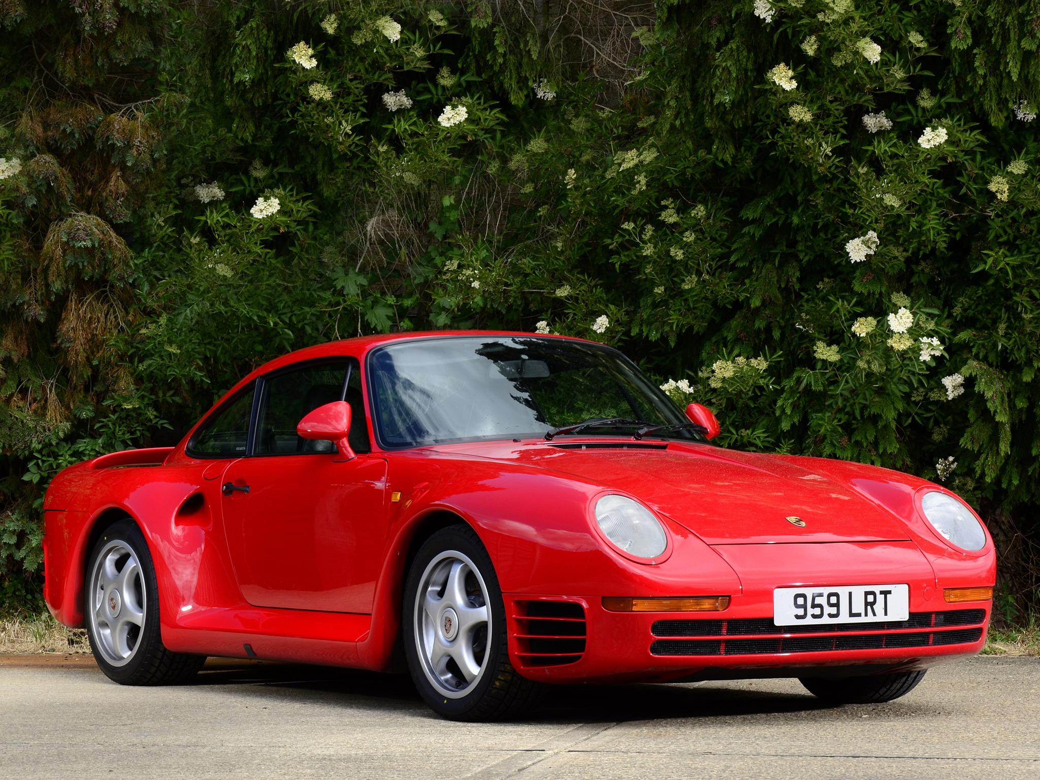 Porsche 959 1986 - 1991 Coupe #6