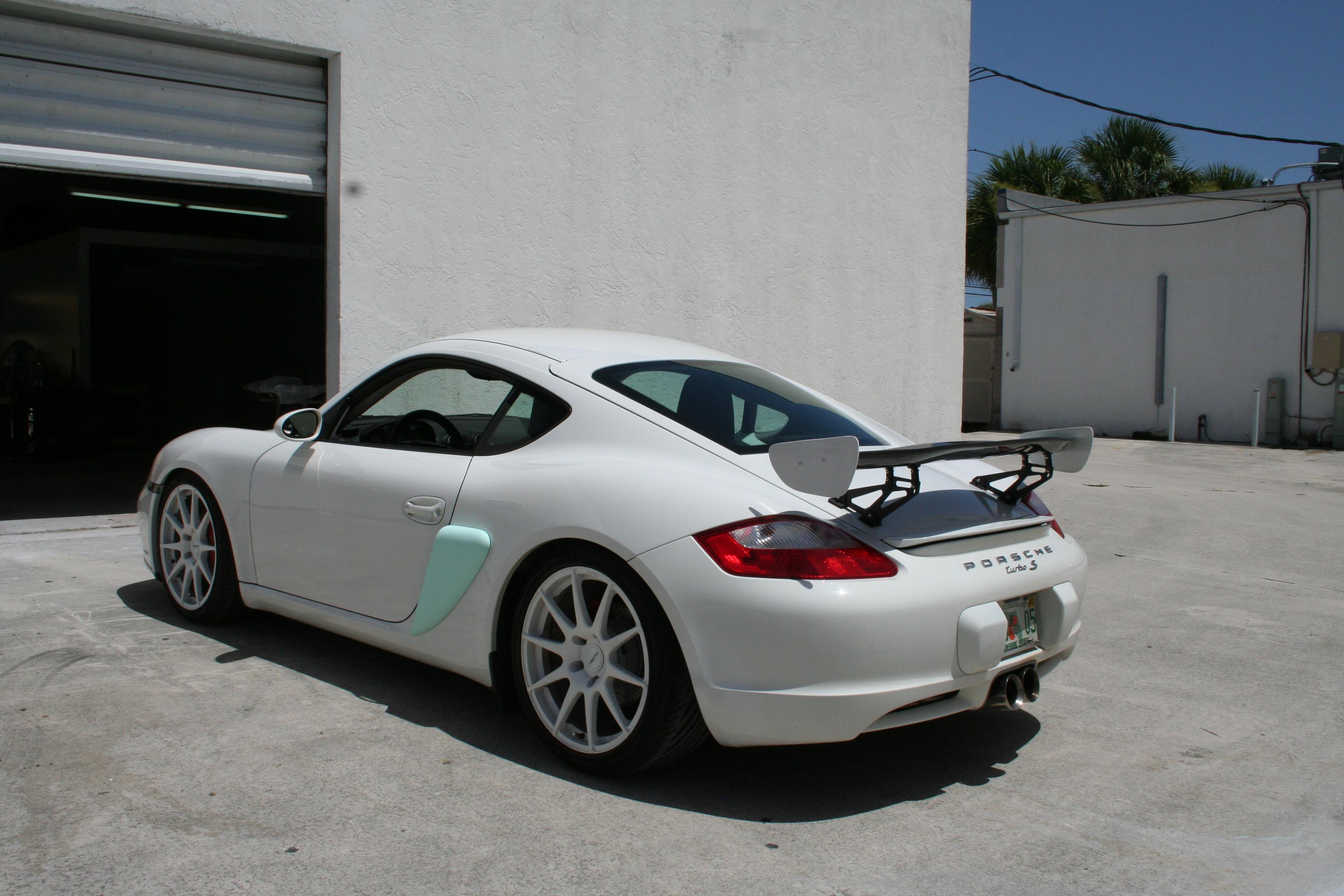 Porsche Cayman I (987) 2005 - 2009 Coupe #2