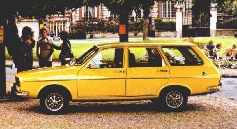 Renault 12 1969 - 1980 Station wagon 5 door #1