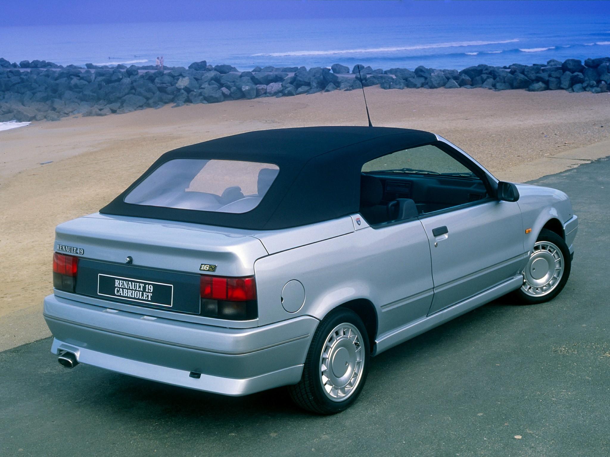Renault 19 I 1988 - 1992 Cabriolet #1